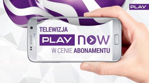 Telewizja PLAY NOW w cenie abonamentu!