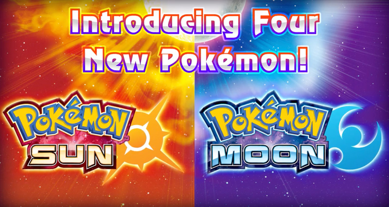 Pokemon Sun i Pokemon Moon na Nintendo 3DS (trailer)