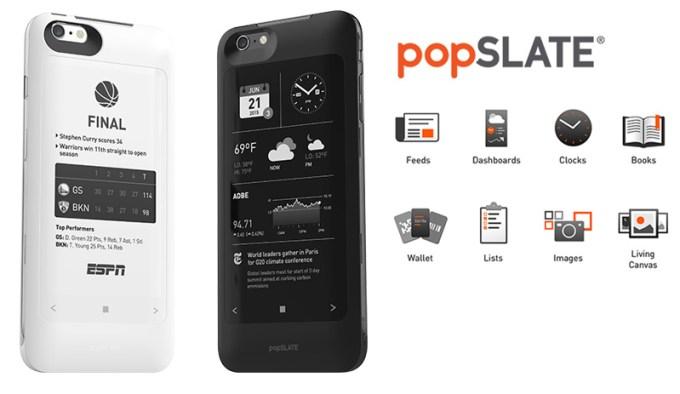 popSLATE 2 - obudowa z wyświetlaczem dla iPhone'a 6