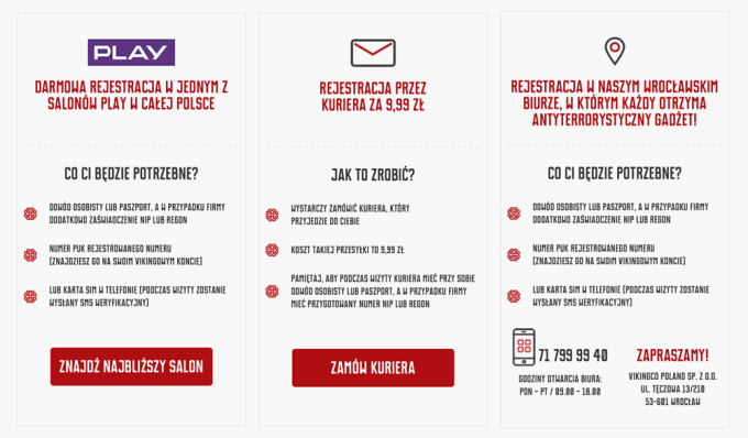 Jak zarejestrować numer w Mobile Vikings?
