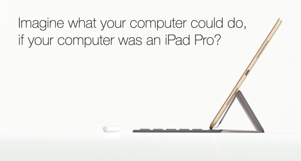 "Nowa reklama iPada Pro pt. ""What's a Computer?"""