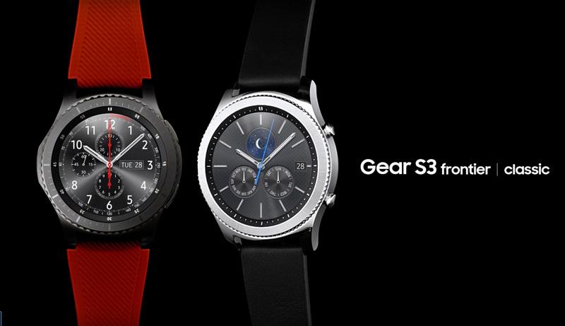 Samsung Gear S3 frontier   classic
