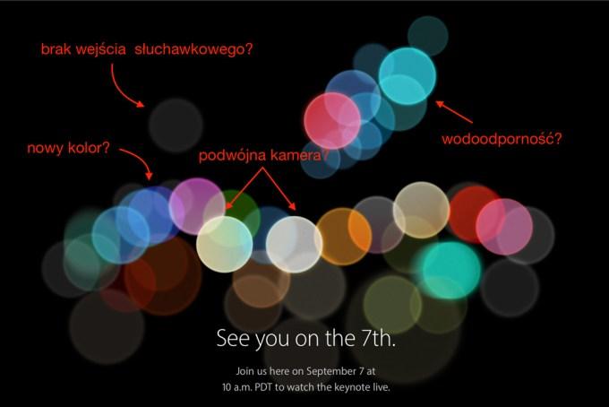 Znaczenie wzoru na zaproszeniu na Apple Special Event (7 września 2016 r.)