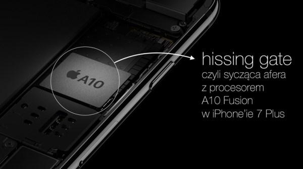 """""""Hissing gate"""" – czyli syczenie iPhone'a 7"""