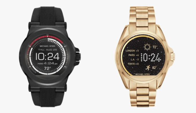 Model elegancki i sportowy - Michael Kors Access - smartwatche