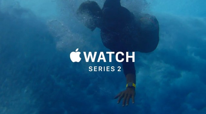 Reklama Apple Watch Series 2 oraz iPhone 7
