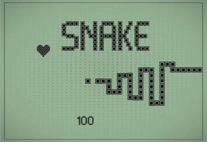 Gra mobilna Snake na Nokię (Wąż)