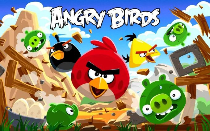 Angry Birds - mobile game