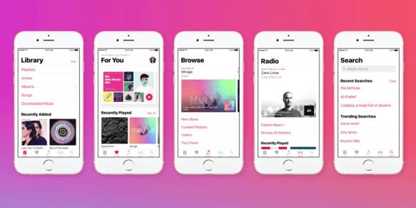 Spot promujący nowe Apple Music