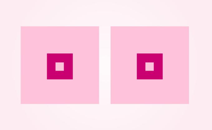 Cancerfonden - grafika kwadratowych piersi w ramach akcji społecznej na Facebooku