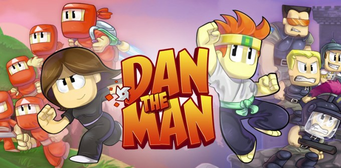 "Gra mobilna ""Dan The Man"" od Halfbrick Studios"