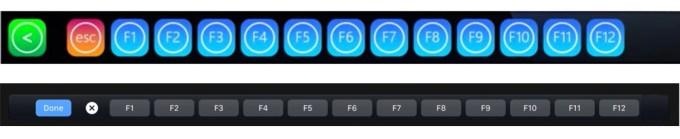 iKeys vs. Touch Bar (klawisze funkcyjne)