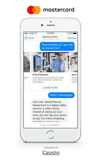 Chatboty od Mastercarda - benefity