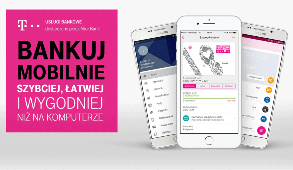 Nowa Bankowosc Mobilna Od T Mobile Uslugi Bankowe Mobirank Pl