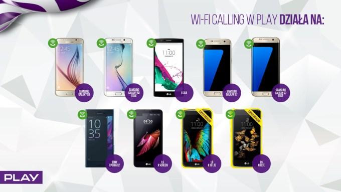 Na jakich urządzeniach będzie działać Wi-Fi Calling w sieci Play?