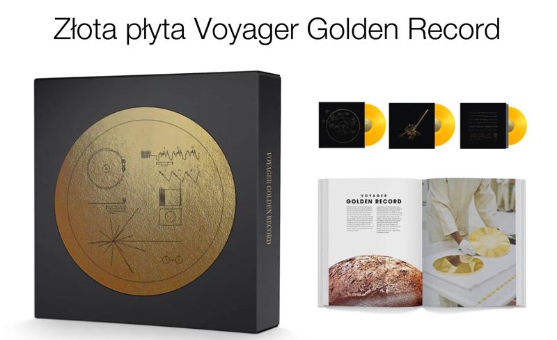 Złota płyta Voyager Golden Record do zamówienia na Kickstarterze