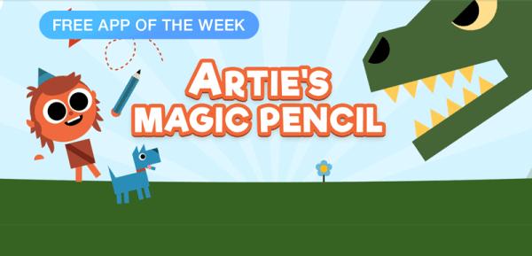 Artie's Magic Pencil – budowanie świata dla dzieci
