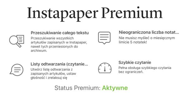Od dziś Instapaper Premium za darmo dla wszystkich