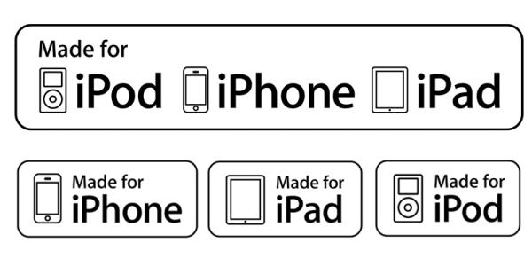 Kupuj akcesoria do produktów Apple'a tylko z tą etykietą