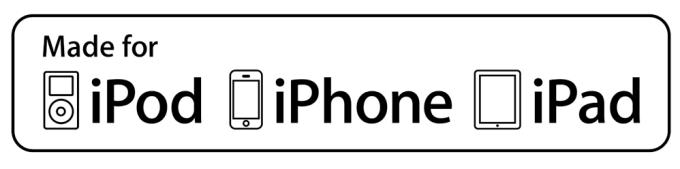 Etykieta dla akcesoriów Made for iPhone, iPad i iPod