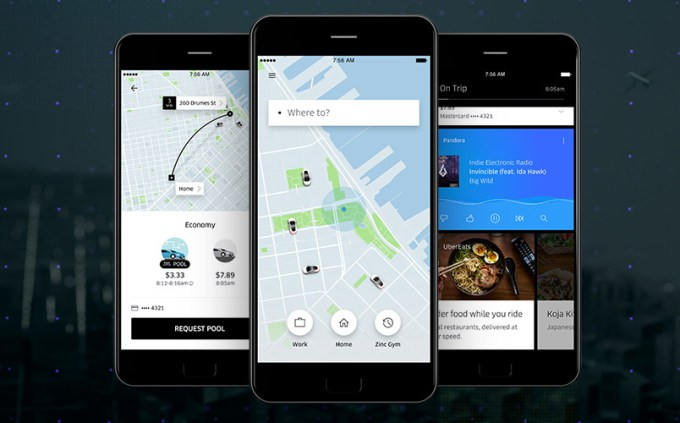 Nowa aplikacja Uber na iOS-a i Androida