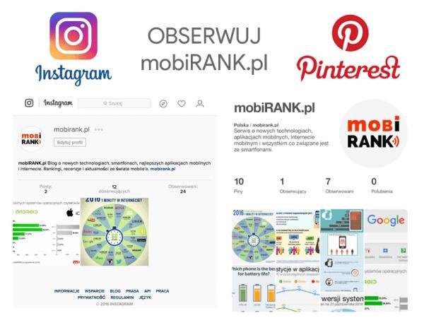 Obserwuj nas na Instagramie i Pintereście