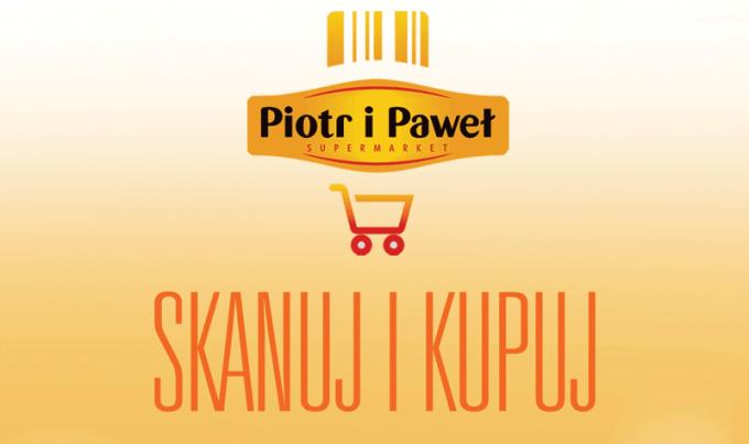 Skanuj i Kupuj - aplikacja supermarketu Piotr i Paweł
