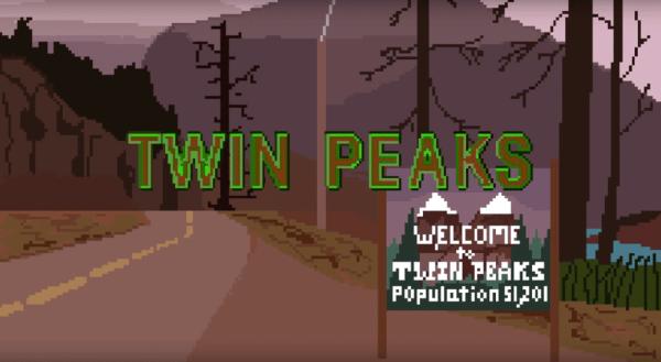 "8-bitowe intro serialu ""Twin Peaks"" rodem z Nintendo"