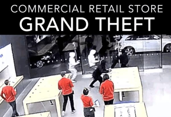 Oto jak okradziono Apple Store w 15 sekund! [wideo]