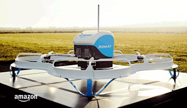 Dron dostarczył pierwsze zamówienie od Amazona