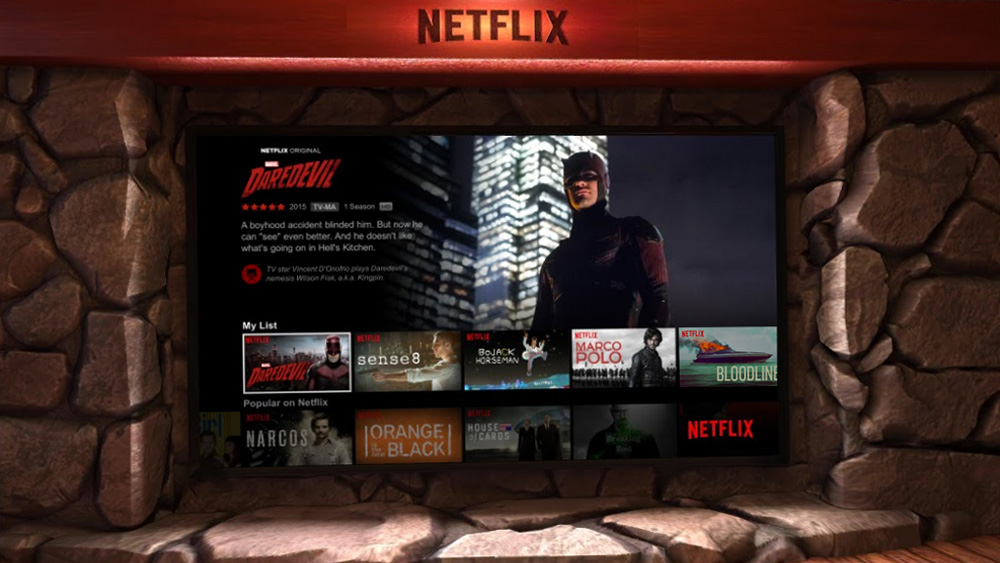Netflix VR na Daydream w sklepie Google Play