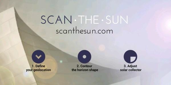 ScanTheSun – aplikacja do mierzenia nasłonecznienia