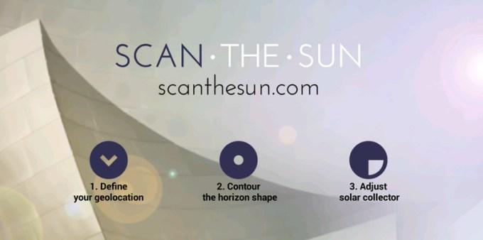 ScanTheSun - aplikacja mobilna do mierzenia nasłonecznienia
