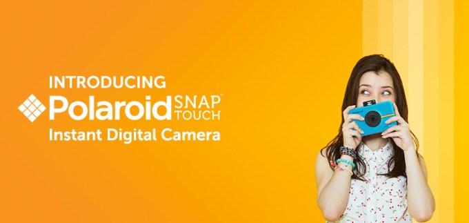 Przedstawiamy Polaroid Snap Touch