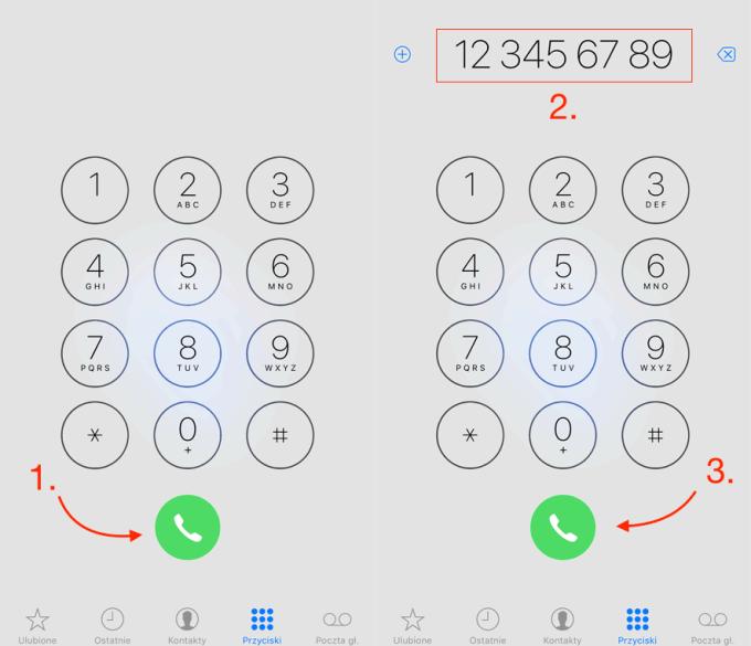 Szybkie wybieranie ostatniego numeru - w 3 krokach (iPhone)