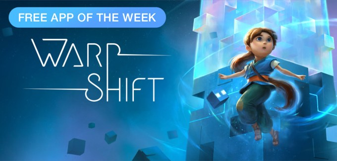 Gra mobilna Warp Shift - Free App of The Week App Store