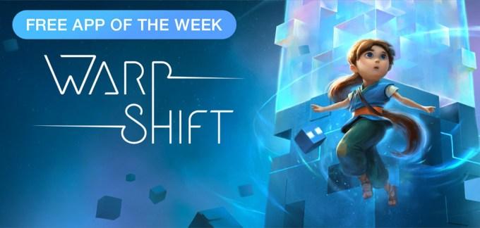 Gra mobilna Warp Shift - Free App of The Week App Store