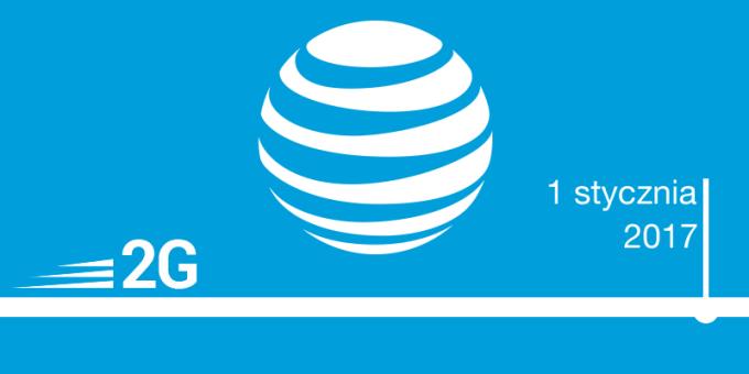Sieć 2G w AT&T tylko do 1 stycznia 2017 r.