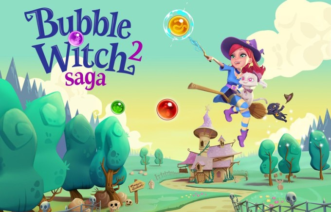 Bubble Witch Saga 3 - gra mobilna od King