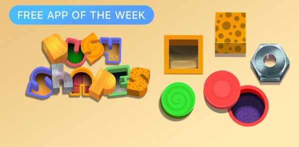Busy Shapes grą tygodnia w sklepie App Store