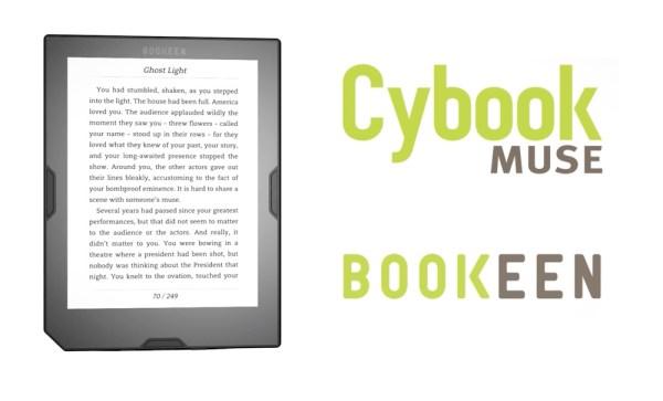 Cybook Muse HD Bookeen – kompaktowy czytnik e-booków