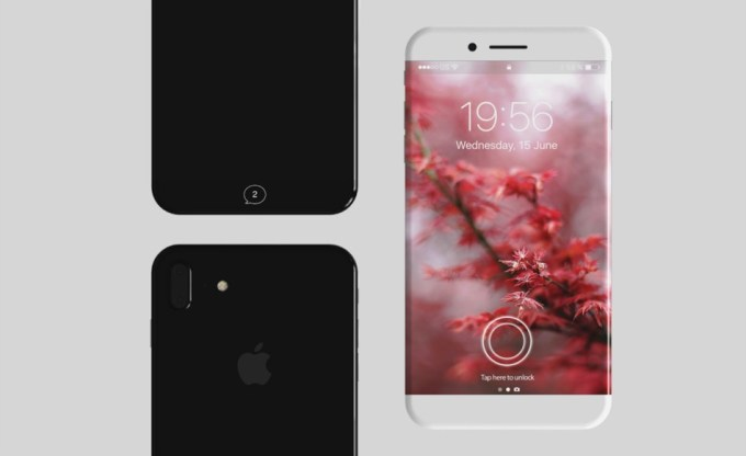 Koncept iPhone 8 (X Edition)