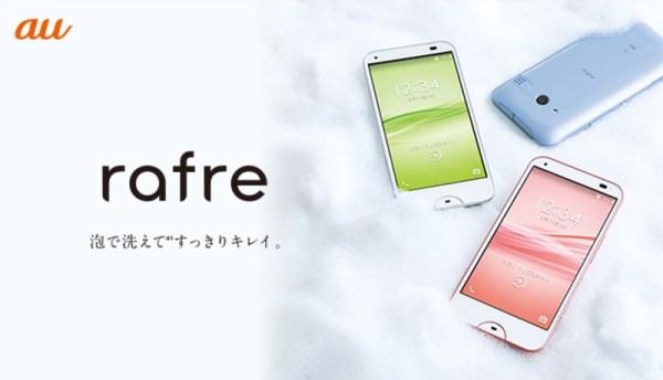 Kyocera Rafre to smartfon, który umyjesz mydłem
