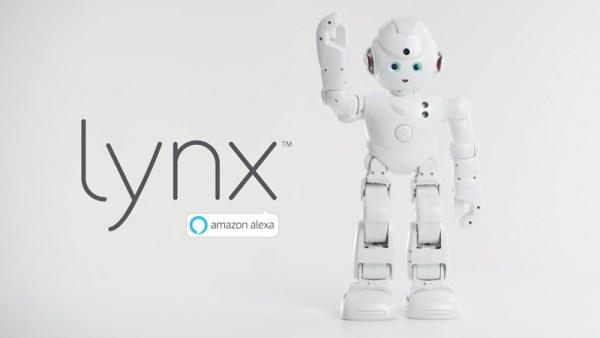 Lynx – inteligentny robot zasilany przez Amazon Alexa