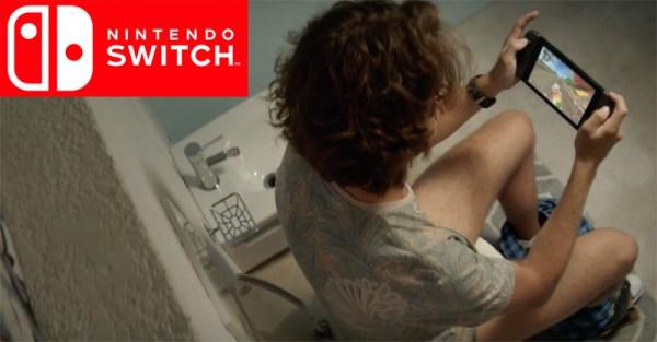 Taka realistyczna reklama Nintendo Switch…