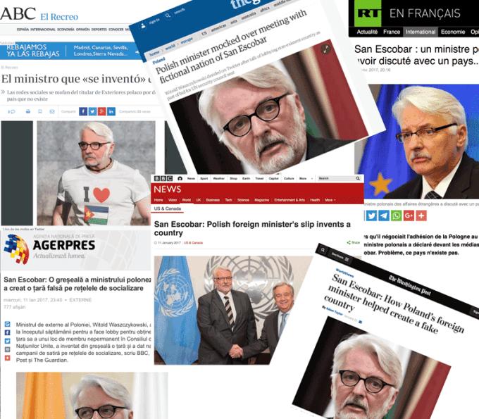 San Escobar w mediach na całym świecie