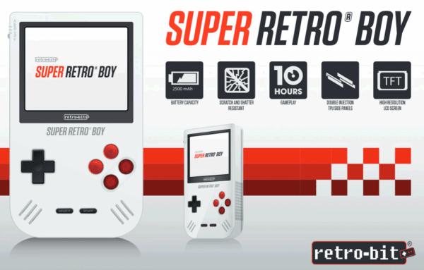 Super Retro Boy – niemal klasyczny Game Boy w nowym wydaniu