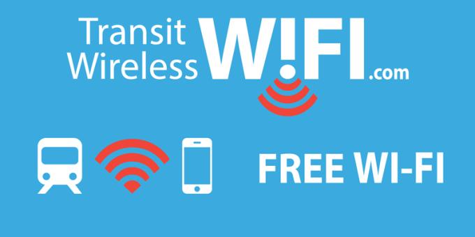 Transit Wireless New York - logo (darmowe W-Fi na stacjach metra NYC)