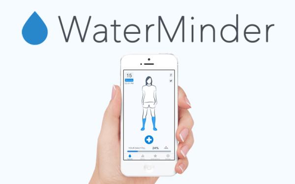 WaterMinder – aplikacja do śledzenia poziomu wody w organizmie