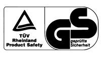 GS Mark with TUVdotCOM Symbol